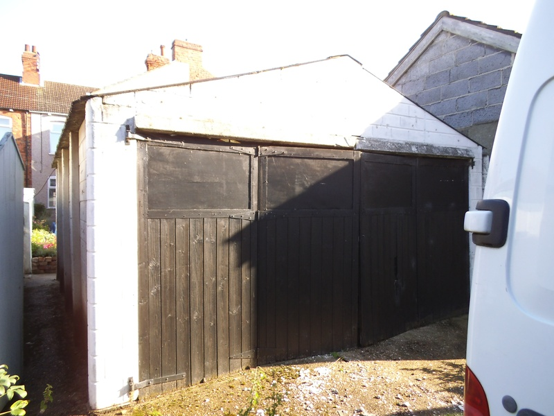 before removal of garage